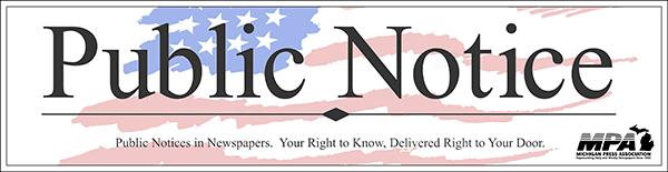 Public Notice Banner Ad